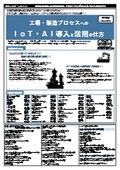 【書籍】工場・製造プロセスへのIoT・AI導入と活用の仕方( No.2055) 表紙画像