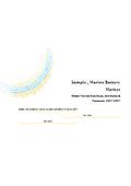 英文市場調査レポート 世界のマリンバッテリー市場規模調査 表紙画像