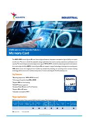 産業向けSDカード IDC3B (MLC) 表紙画像