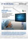Winmate社 医療向け4K-UHD27インチモニター 表紙画像