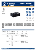 P-DUKE【MPP06】医療用(2MOPP) 高絶縁耐圧 6W DC/DCモジュール 表紙画像