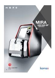 プログラム機能搭載 同軸ケーブル加工機『Mira 440 /440 SF』 表紙画像