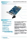 インテリジェント CompactPCI EtherCAT マスターボード A3pci1571