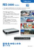 IP67レベルの小型ファンレスPC「RES-3000」シリーズ