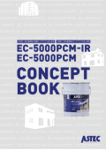 外壁用(遮熱)高性能防水塗料「EC-5000PCM(IR)」