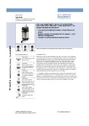 ダイヤフラム型コントロールバルブ Type2103データシート 表紙画像