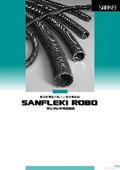 【26版】サンフレキROBO 合成樹脂製フレキシブル電線管カタログ 表紙画像