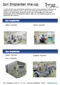 Implanter Line-up