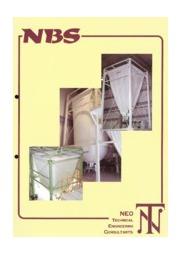 NBSサイロ(特殊布製サイロ) ※食品業界の粉粒体貯蔵に! 表紙画像