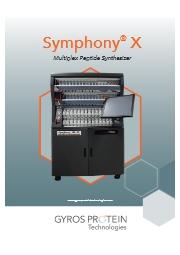 Gyros Protein technologies社製Symphony X 表紙画像