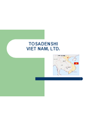 株式会社土佐電子 ベトナム工場 表紙画像