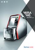 プログラム機能搭載ロータリーワイヤーストリッパー Mira340 表紙画像