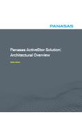 Panasas ActiveStor アーキテクチャの概要説明 (英文) 表紙画像