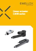 エバリックス「シリンダー型電動アクチュエータ CAHBシリーズ」(カタログ(英語)) 表紙画像