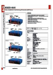 組込向け産業用ファンレスPC【BOXER-6641】 表紙画像
