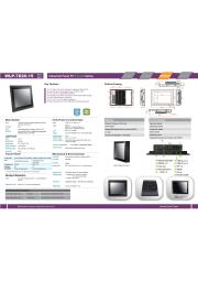 15型第5世代Core-i5-5200U-2.2GHz CPU搭載の高性能ファンレス・タッチパネルPC『WLP-7D20-15』 表紙画像