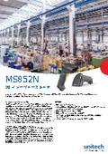 【デモ機無料貸出中】QRコード読み取り対応ハイコストパフォーマンス2Dイメージャスキャナ『MS852N』カタログ