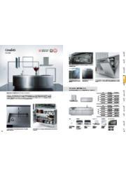 キッチンプランニングガイド 機能性も美しさも洗練されたオリジナルステンレスキッチン『グラッド45』。 表紙画像