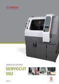 大型試料切断機『SERVOCUT-502』 表紙画像