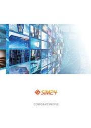 SiM24会社概要 表紙画像