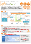 WEBサービス開発支援フレームワーク『Biz/Serv』 表紙画像