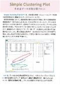 データプロット『Simple Clustering Plot』