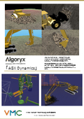 建機・土壌の物理シミュレータの構築が可能な統合開発ツール【物理エンジン「AGX Dynamics」】
