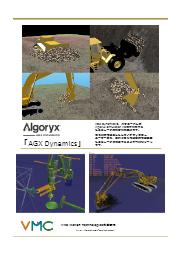 建機・土壌の物理シミュレータの構築が可能な統合開発ツール【物理エンジン「AGX Dynamics」】 表紙画像