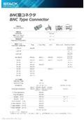 同軸コネクタ「BNC型コネクタ」