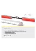 過酷な環境用の飛散防止LED照明 密封型LEDストリップライト「WLS27シリーズ」 表紙画像