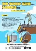 小規模保全整備『トースイBW充填工法』 表紙画像