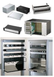 タカチ電機工業 19インチラックマウントケース・ラック棚板・パネル 総合カタログ 表紙画像