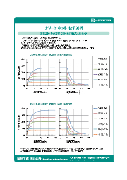 【クリーンホット技術資料】2-1.昇温・降温特性(CLH-0.6及びCLH-0.9) 表紙画像