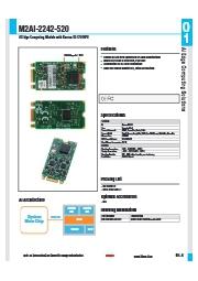 AIアクセラレータボードKL520搭載M2AI-2242-520 表紙画像
