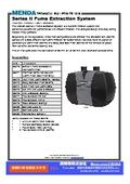 MENDA Series II Fume Extraction System カタログ 表紙画像