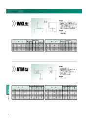回転用シール『ヘキサシールWKL型/ATM型』のサイズ表 表紙画像