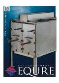 熱交換装置『EQURE SWE-EQシリーズ カタログ』 表紙画像