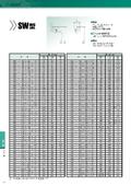 回転用シール『ヘキサシールSW/SWX/KO型』のサイズ表 表紙画像
