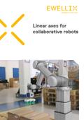 エバリックス「協働ロボット向け直動製品案内」(パンフレット(英語)) 表紙画像
