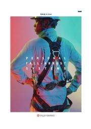 『墜落制止用器具』※新規格対応ハーネス 総合カタログ進呈 表紙画像