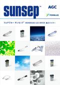 耐酸性・耐蝕性に優れた膜式加湿/除湿器『サンセップ』