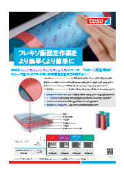 フレキソ版固定用クッション両面粘着テープ テサ ソフトプリントFE-X EAシリーズ 表紙画像