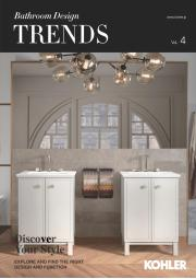 KOHLER (コーラー)TRENDSvol.4  BathroomDesign2019 表紙画像