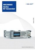 RFジェネレータ 9kHz〜2.1GHz/3.2GHz SIGLENT SSG3000Xシリーズ