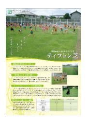 校庭緑化に選ばれるタフな芝『ティフトン芝』 表紙画像