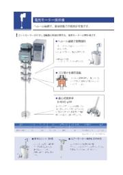 電気モーター撹拌機【NTME】 表紙画像