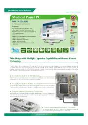 IEI 21.5インチ医療用タッチパネルPC【POC-W22A-H81】 表紙画像