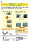 硬化後ウレタン樹脂溶解剤 eソルブ21HU 製品カタログ 表紙画像