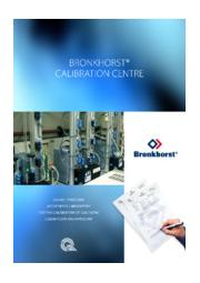 ISO-17025認証 ブロンコスト校正センター 表紙画像