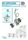 テクフロー社 薬液用精密流量センサ IR−OPFLOW 表紙画像
